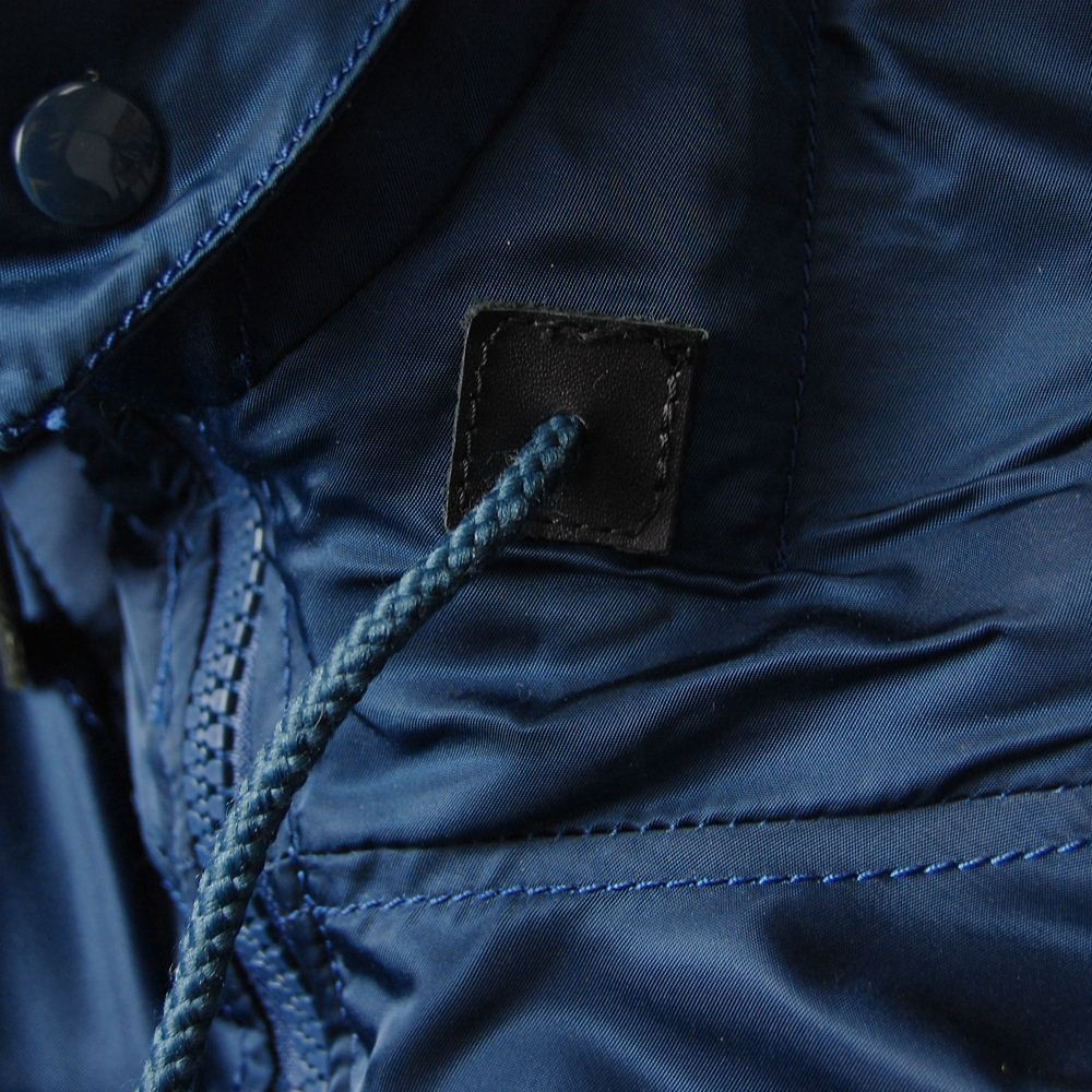 Аляска парка alpha N-3B parka replica blue.